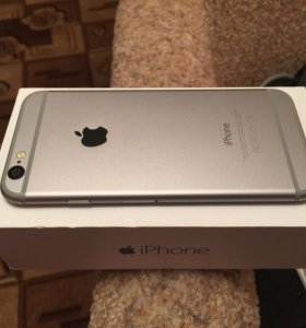 iPhone 6 space grey 16gb комплект