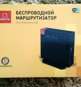 Wi-Fi роутер Дом.ру