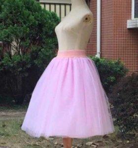 Новая юбка из фатина(46-48)