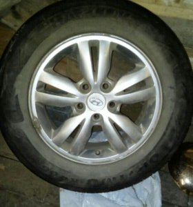 Колеса R16 диск 5x114,3 резина летняя 215х65