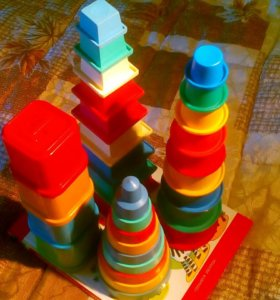 Пирамидки для малышей.