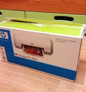 Принтер HP Deskjet D1360