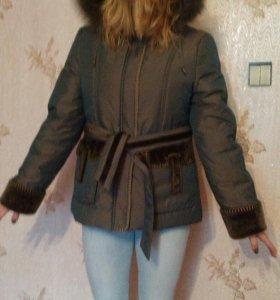 Новый пуховик-куртка