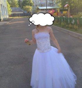 Платье маленькой  невесты