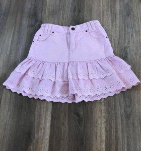 Джинсовая юбка 122-128