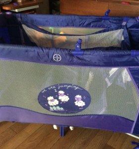Детский манеж-кровать Bebe Planete Animals