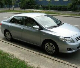 Toyota corolla 2008 г.в.