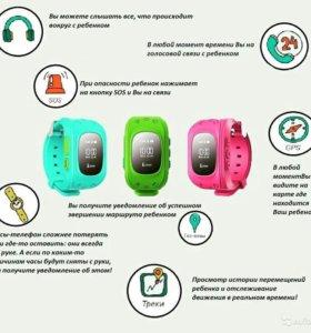 Детские часы+телефон+GPS