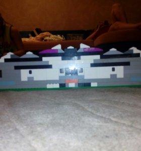 Гараж из Лего