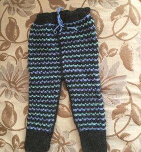 Детские вязаные штанишки