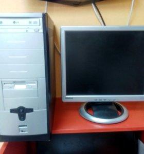Настольный компьютер с монитором Samsung