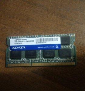 Оперативная память 4гб ddr 3