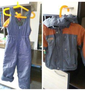 Деми куртка и полукомбинезон