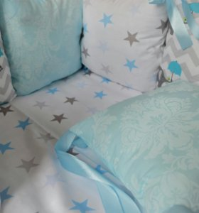 Бортики на всю кроватку