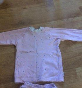 Детская пижама для девочки 4-6
