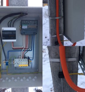 Щит шкаф узел учета щит электрический 15 кВт 380 в