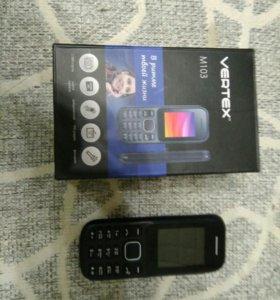 Телефон Vertex M103 новый