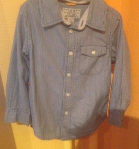 Рубашки Gap и H&M