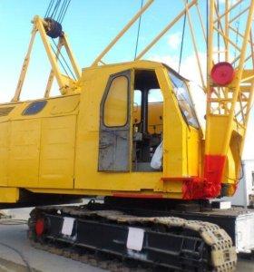 Аренда крана 25 тонн, 40 тонн гусеничных Рдк, Мкг