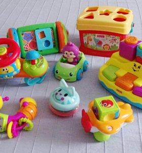Игрушки для детей до 1 года.