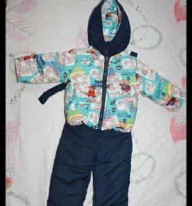 Бомбический костюм на мальчишку весна-осень