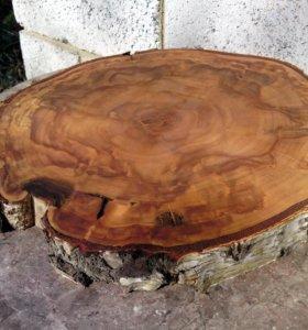 Спилы Срезы дерева для фотосессии