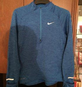 Мужская футболка Nike с длинным рукавом для бега