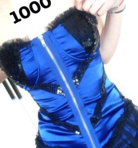 платье с паедками фирмы Jennyfer новое