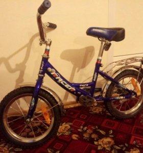 """Велосипед детский """"Racer"""" с маленькими колёсами"""