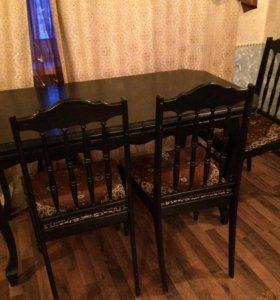 Продам стол со стульями (3)