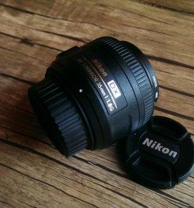 Объектив Nikon 35 1.8G AF-S Nikkor