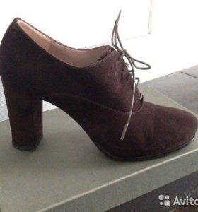 Замшевые туфли Sara Kent