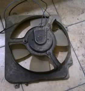 Вентилятор радиатора Ваз 2109