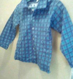 Рубашки детские новые