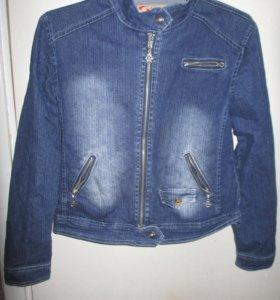 Куртка джинсовая размер 44-46