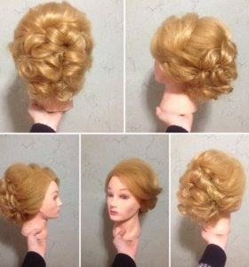Причёски, укладки, косы