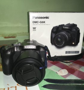 Panasonic lumix G6 kit 14-42mm