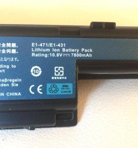 Усиленный аккумулятор для Acer и Packerd bell