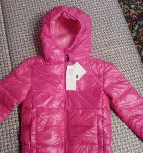 Новая куртка на весну на девочку