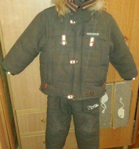 5-6 лет Зимний костюм