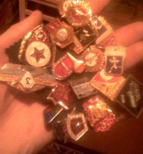 Советские наградные значки