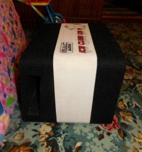 Сабвуфер mac audio ice cube 108 a
