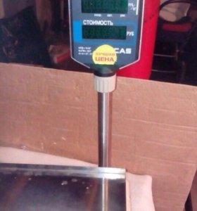 Торговые весы Cas с принтером