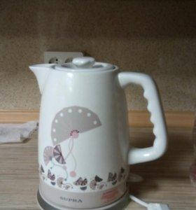 Чайник керамический на запчасти