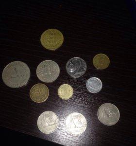 Монеты разные страны