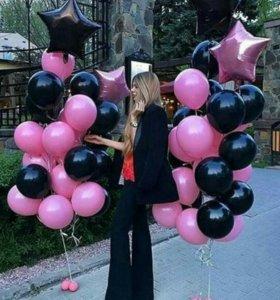 Воздушные шарики для всей семьи.