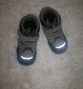 ботинки демисезоннные утепленные 24 размер
