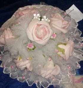 Розы. Букет. Свадьба