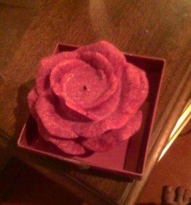 Роза свеча