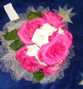 Розы... Букет... Свадьба